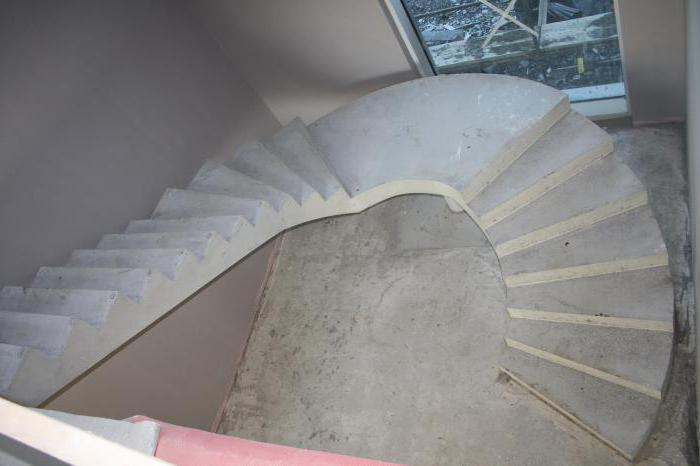 трапециевидная лестничная площадка
