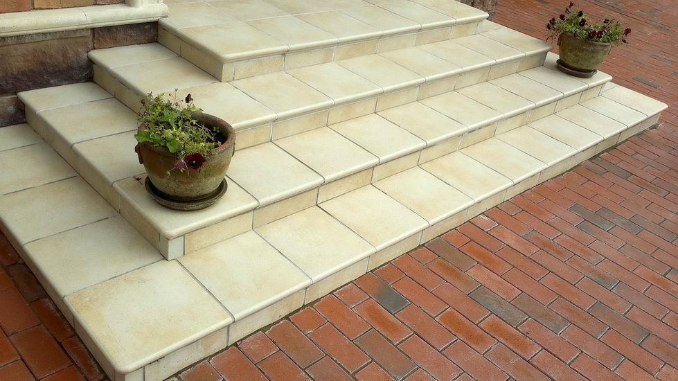 клинкерная плитка для ступеней лестниц