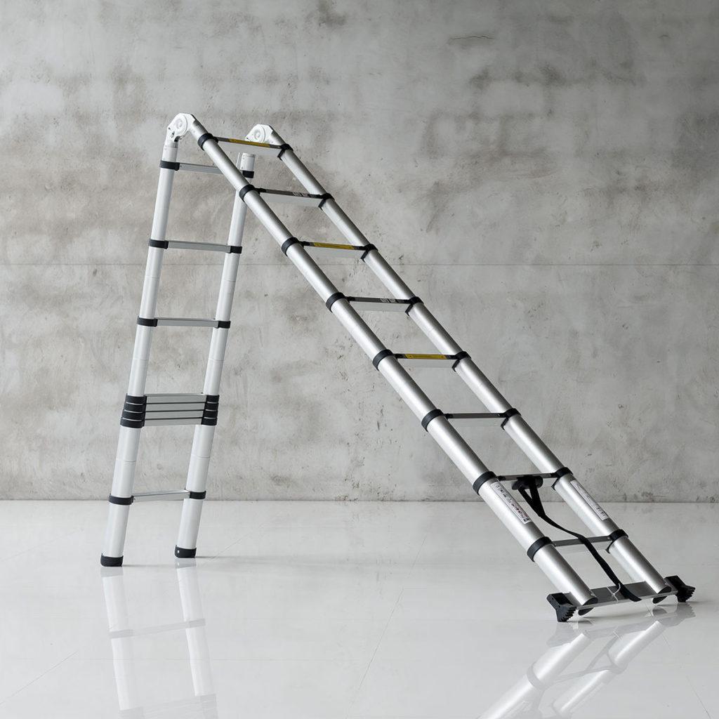 телескопическая лестница-стремянка