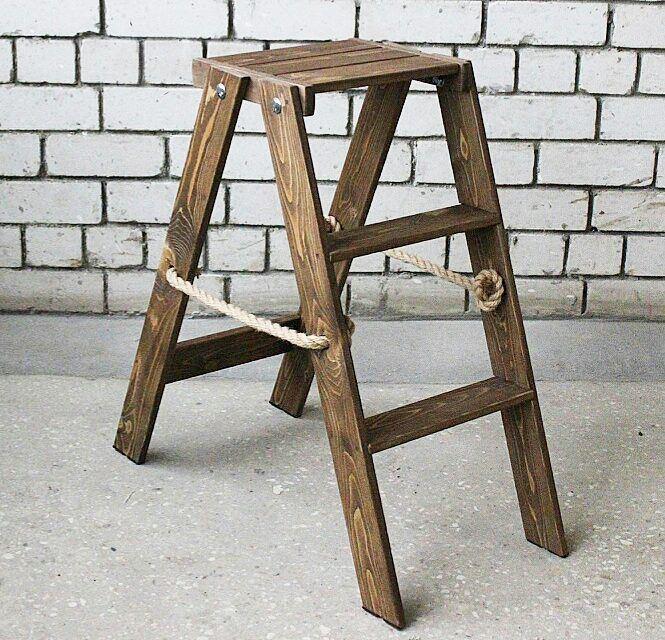 деревянная стремянка