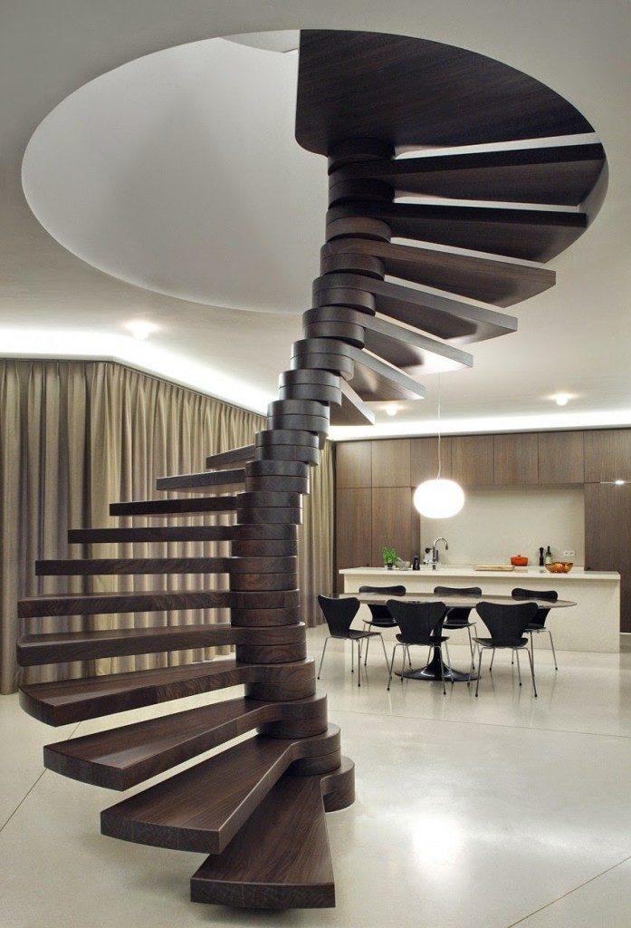консольная винтовая лестница