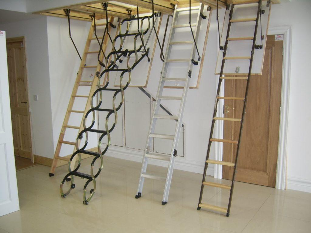 выбор чердачной лестницы