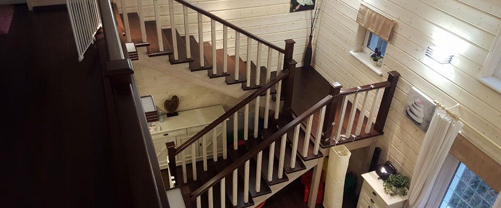 Прямоугольная лестничная площадка