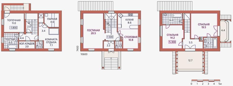 чертеж лестницы на плане дома