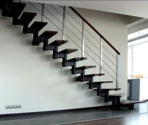 пряма модульная лестница