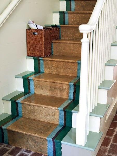 Цветовое решение для лестниц