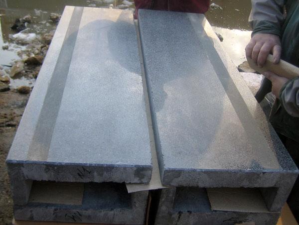 ступени из полимерного бетона