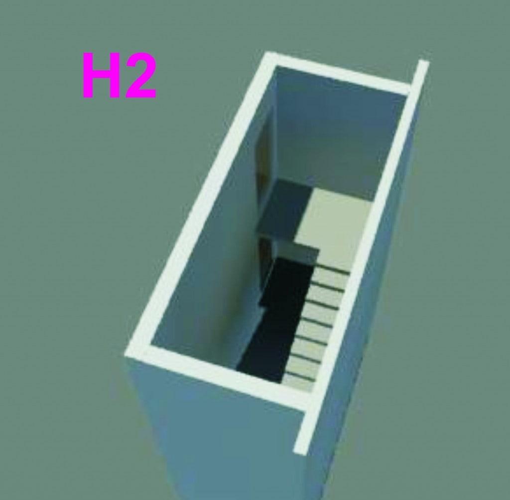 Внутренние конструкции типа Н2