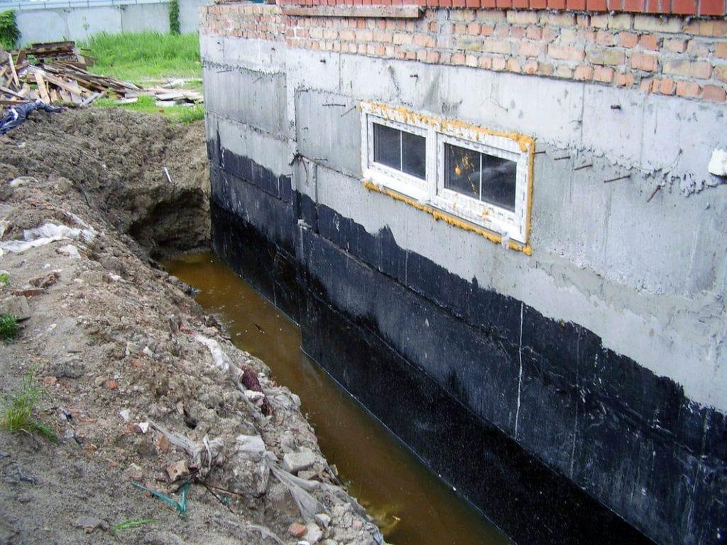 Подготовка к гидроизоляции