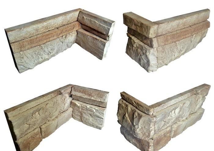 Угловые элементы камня