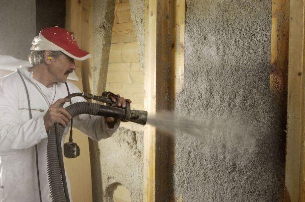 Эковата для утепления стен деревянного дома