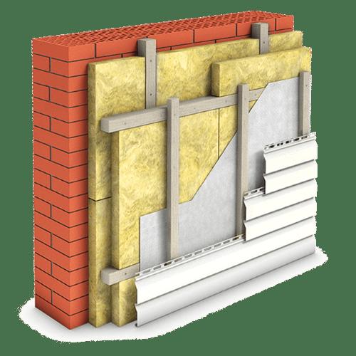 Утепление минватой стен дома