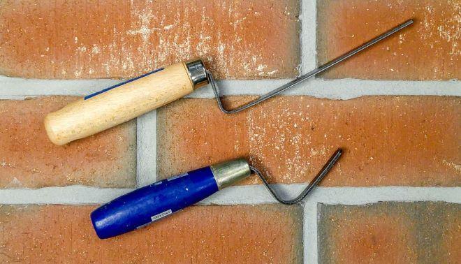 Расшивка швов кирпичной кладки